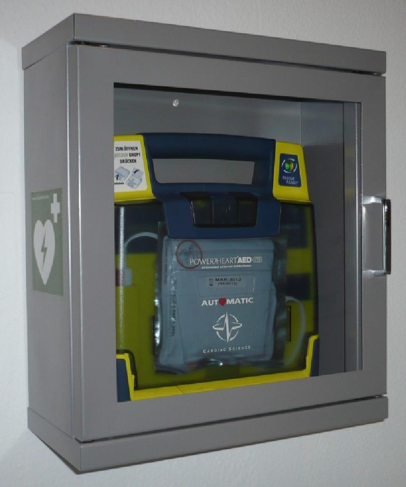 AED-Wandkasten Standard